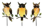 Owl Yard Stakes