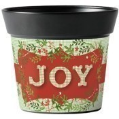Joyful Christmas Art Pot Thumbnail