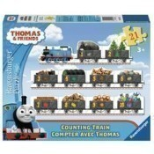 Counting Train Shaped Puzzle Thumbnail