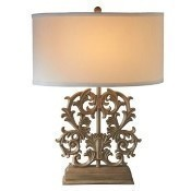 Ornate Scroll Table Lamp Thumbnail