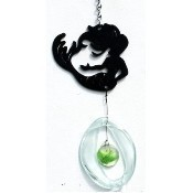 Mermaid Metal Mini Wind Chime Thumbnail