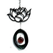 Lotus Metal Mini Wind Chime Thumbnail