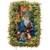 Christopher Radko - Father Christmas Postcard Thumbnail