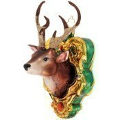 A Buck For Christmas Ornament Thumbnail