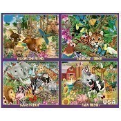 Animal Friends 4 in 1 Box Puzzles Thumbnail