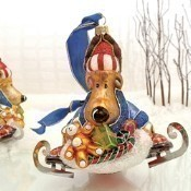 Ornaments to Remember Reindeer on Ice Skates Thumbnail