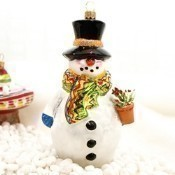 Ornaments to Remember - Southwest Snow Person Thumbnail