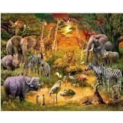 African Harmony Jigsaw Puzzle Thumbnail