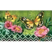 Butterflies with Pink Flowers MatMate Thumbnail