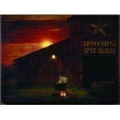 Lighted Apple Butter Time Canvas Thumbnail