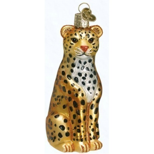 Old World Christmas - Leopard Ornament Thumbnail