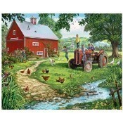 The Old Tractor Puzzle Thumbnail