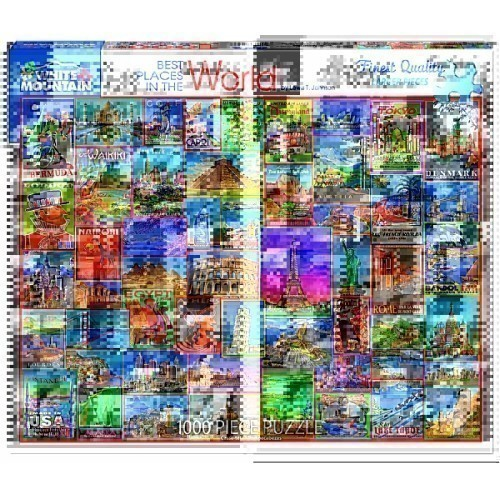 Best Places in the World Jigsaw Puzzle Thumbnail