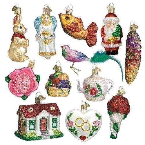 Old World - Bride's Tree Ornament Collection Thumbnail