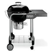 Weber Performer Silver Charcoal Grill - Black Thumbnail