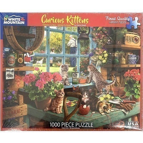 Curious Kittens Puzzle Thumbnail