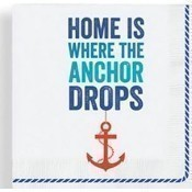Home is Where the Anchor Drops Napkins Thumbnail