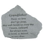 Grandfather Those We Love Memorial Stone Thumbnail
