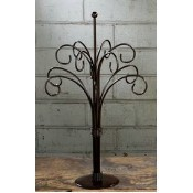 12 Arm Ornament Metal Tree - Dark Brown Thumbnail
