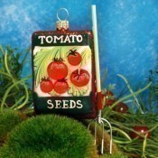 Ornaments to Remember - Tomato Seed Packet Thumbnail