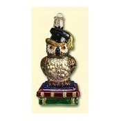 Old World Christmas Graduation Owl Ornament Thumbnail