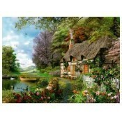 Country Cottage Puzzle - 1,500 Pieces Thumbnail
