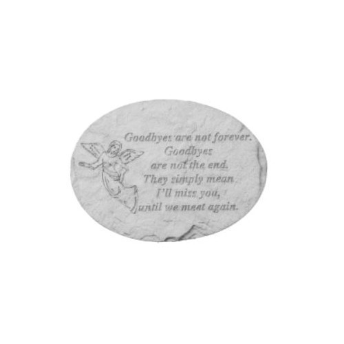 Goodbyes Are Not Forever Memorial Stone Thumbnail