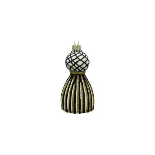 Thomas Glenn - Tassel Ornament - Gold/Black Thumbnail