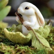 Bunny in a Leaf Boat Thumbnail
