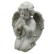 Kneeling Thankful Angel Statue Thumbnail