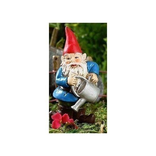 Brolan - Watering Can Gnome Stake Thumbnail