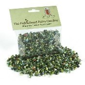Green Variegated Glass Pebbles Thumbnail