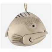 Fat Fish with Black Spots Ornament Thumbnail