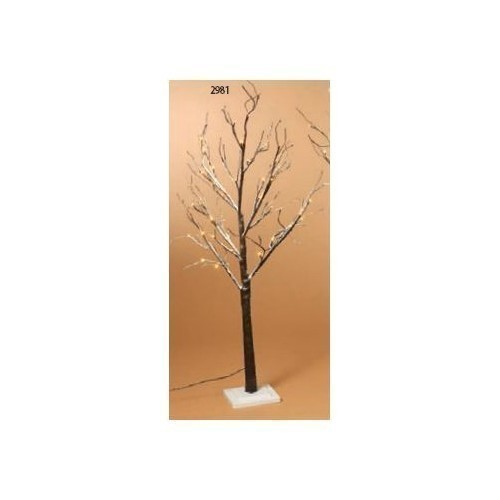 Electric Snowy LED Lighted Tree Thumbnail