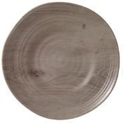 Drift Wood Round Dinner Plate Thumbnail