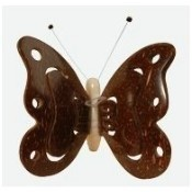 Butterfly with Coconut Wings Ornament Thumbnail
