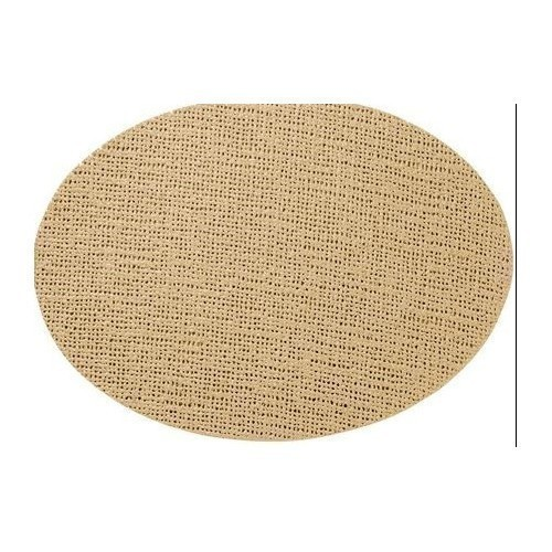 Fishnet Oval Placemat - Beige Thumbnail