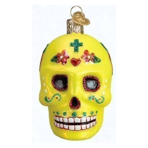 - Sugar Skull Ornament Thumbnail