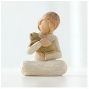 Kindness Girl Figurine Thumbnail