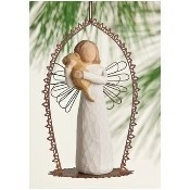 Angel of Friendship Trellis Ornament Thumbnail