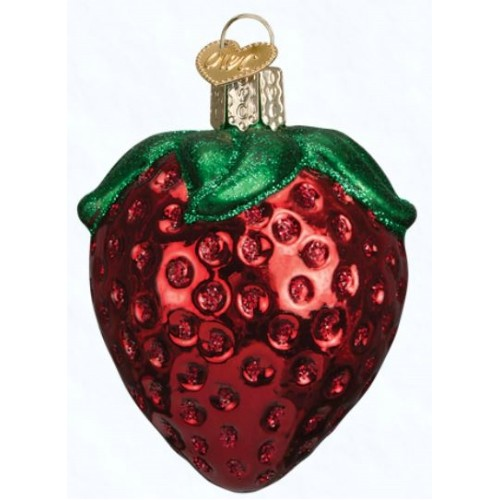 Summer Strawberry Ornament Thumbnail