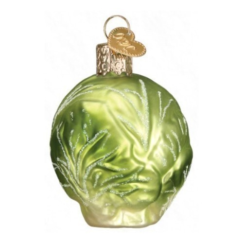 Brussel Sprout Ornament Thumbnail