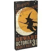 Beware October 31 Box Sign Thumbnail