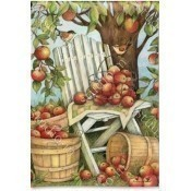 Apples Galore Garden Flag Thumbnail