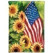 American Sunflowers Garden Flag Thumbnail