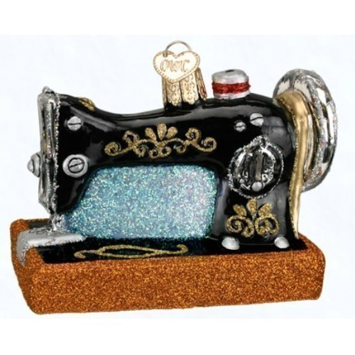 Sewing Machine Ornament Thumbnail