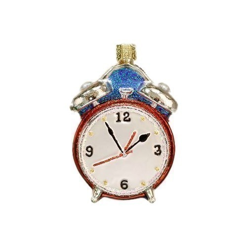 Alarm Clock Ornament Thumbnail