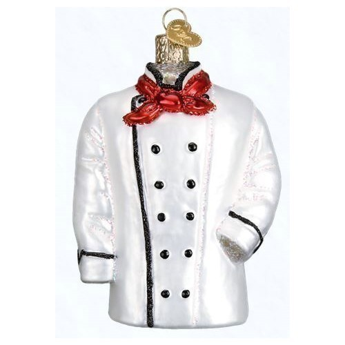 Chef's Coat Ornament Thumbnail