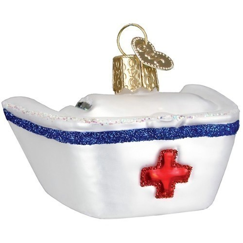 Nurse's Cap Ornament Thumbnail