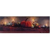 Lighted Harvest Display Canvas Thumbnail